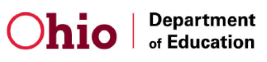 Ohio Department of Education Logo